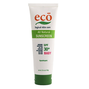 Eco Natural Sunscreen – Baby SPF 30+ 100g