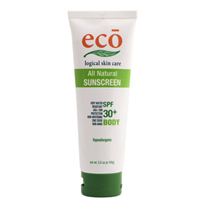 Eco Natural Sunscreen – Body SPF 30+ 100g