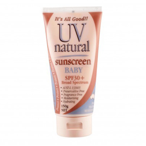 UV Natural Baby Sunscreen SPF30+ 150g