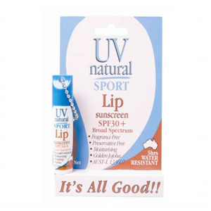 UV Natural Lip Sunscreen SPF30+ 5g