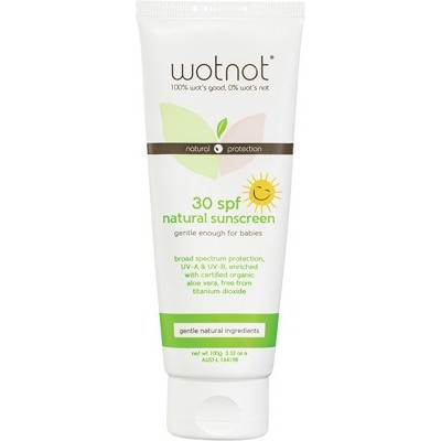 Wotnot 30+ SPF Sunscreen 100g